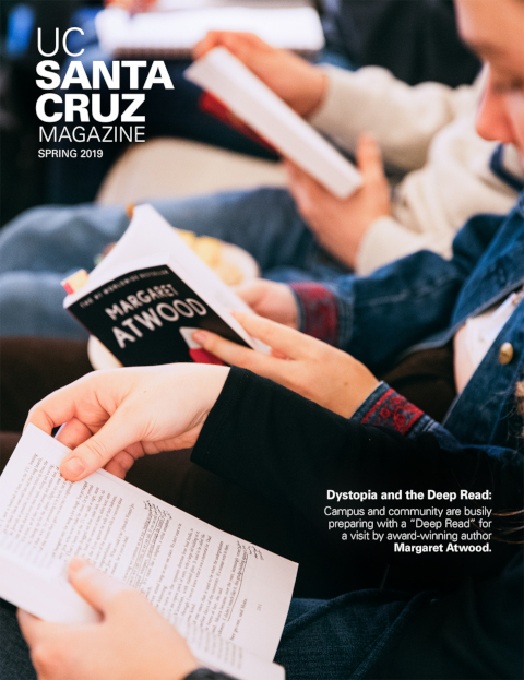 UCSC Magazine Spring 2020 cover