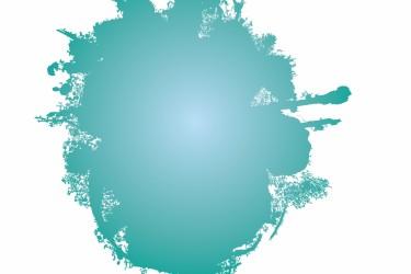 Turquoise splat image