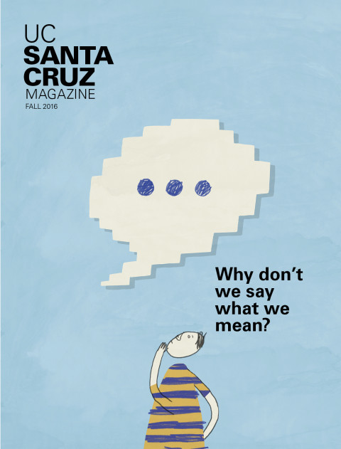 UC Santa Cruz Magazine Cover