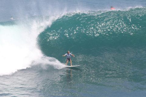 Barbarian William Finnegan surfing in Thailand.