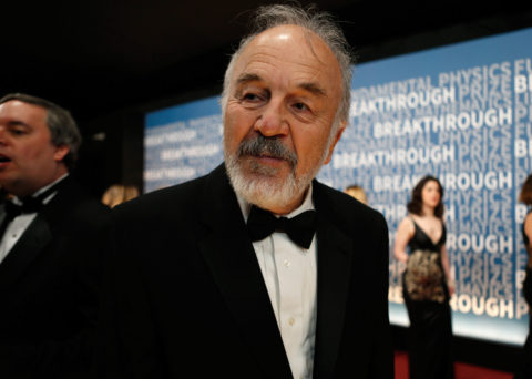 Harry F. Noller on the red carpet prior to the Breakthrough Prize