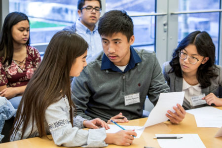 North Salinas high school student debaters