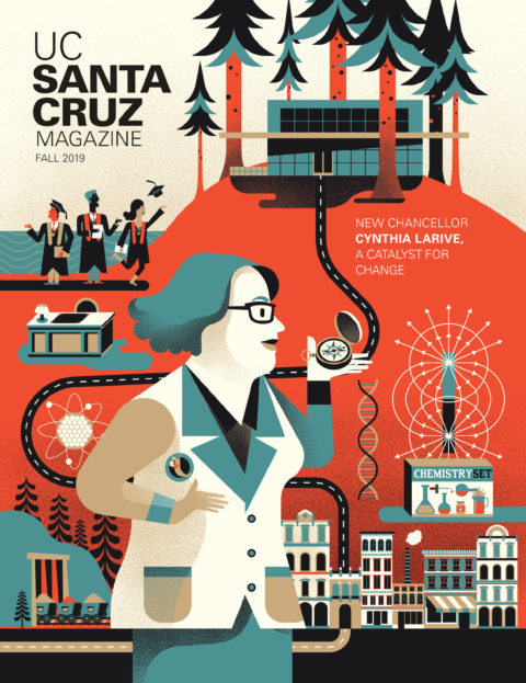 UCSC Magazine Fall 2019 Cover