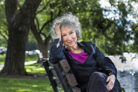 Bestselling author Margaret Atwood (photo by Liam Sharp)