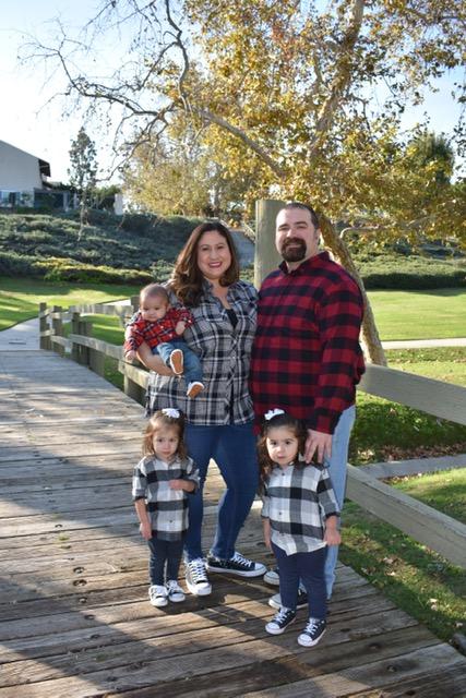 Arteaga and family