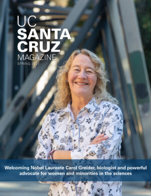 UCSC Magazine Fall Cover